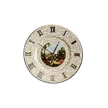 DIsh Clock- Cottage