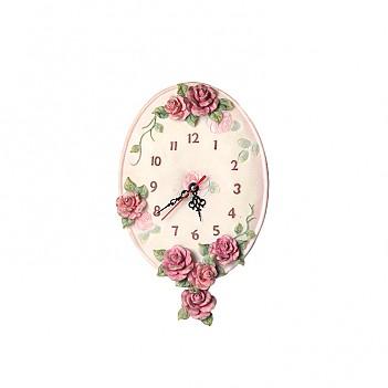 로즈가든 시계-타원형