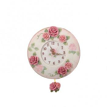 로즈가든 시계-원형