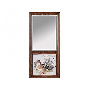 오크프레임 거울 -청둥오리